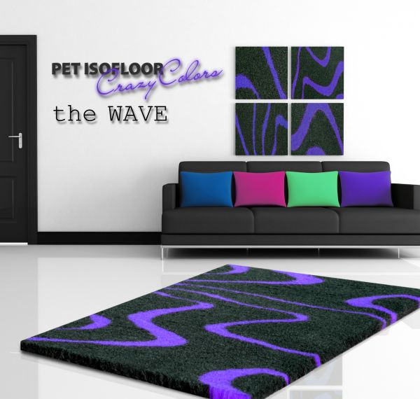 PET ISOFLOOR SX theWAVE Purple