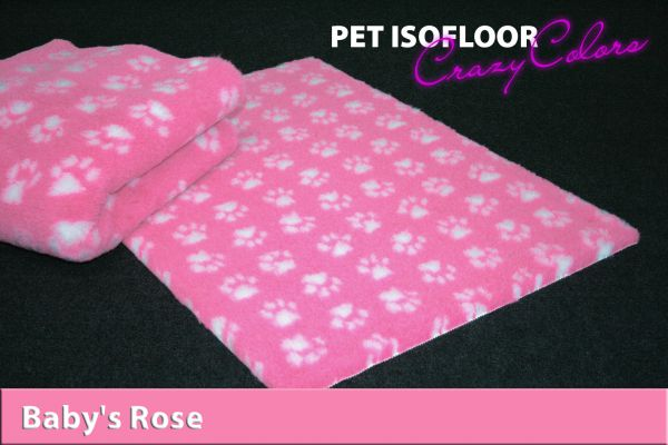 PET ISOFLOOR SX Baby's Rose