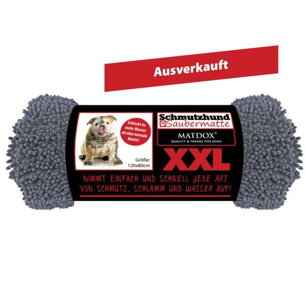 XXL Schmutzhund Saubermatte 120x80cm grau