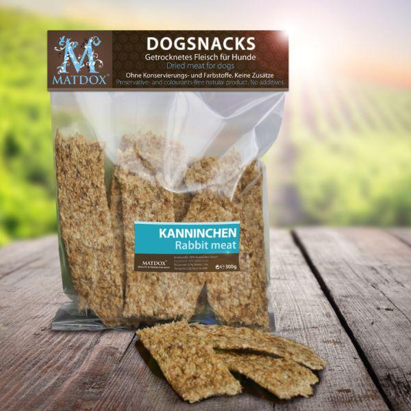 Hundesnack BIG-PACK Kaninchenfleisch Streifen