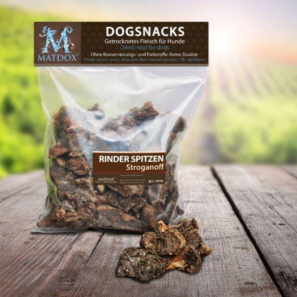 Hundesnack BIG-PACK Rinderspitzen Stroganoff