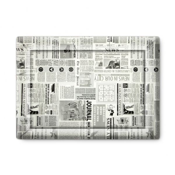 "Matdox Design Hundematte ""Newspaper"""
