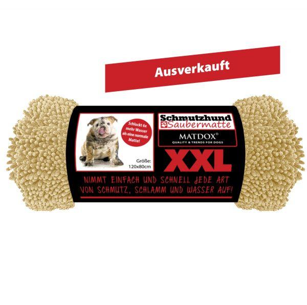 XXL Schmutzhund Saubermatte 120x80cm beige