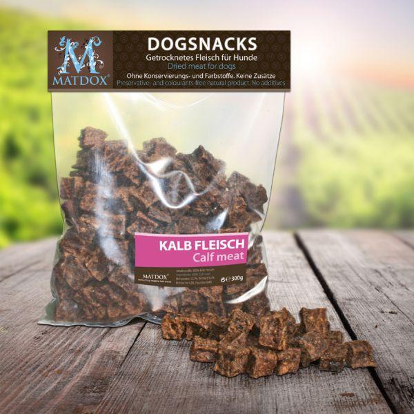 Hundesnack BIG-PACK Kalbfleisch Würfel