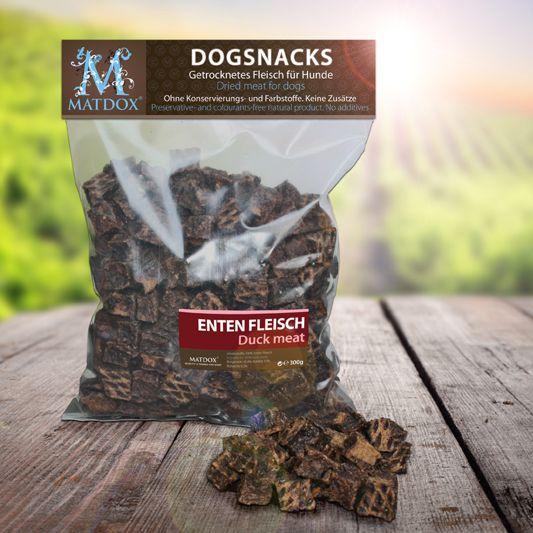 Hundesnack BIG-PACK Ente Würfelfleisch