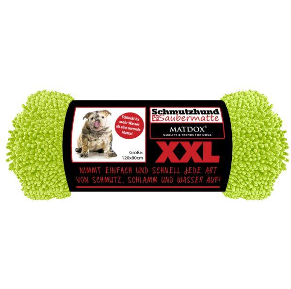 XXL Schmutzhund Saubermatte 120x80cm lime