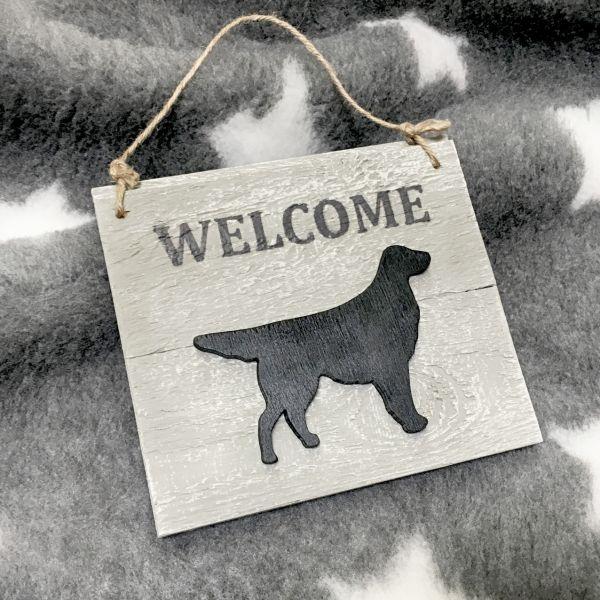 "Matdox Shabby ""Welcome"" - Schild 2"